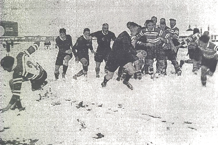 Ranfurly Shield Rugby in the Snow