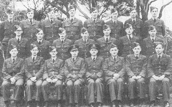 J F de Lisle is front row, 2nd from the right