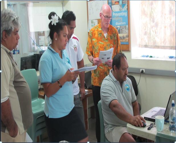 Met exercise in Cook Islands MetService