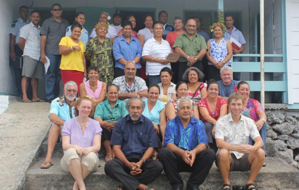 SWFDDP Workshop in Niue, November 2012