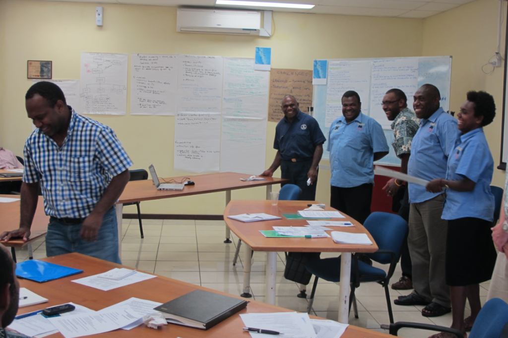 SWFDDP DRR Workshop in Vanuatu, 2012
