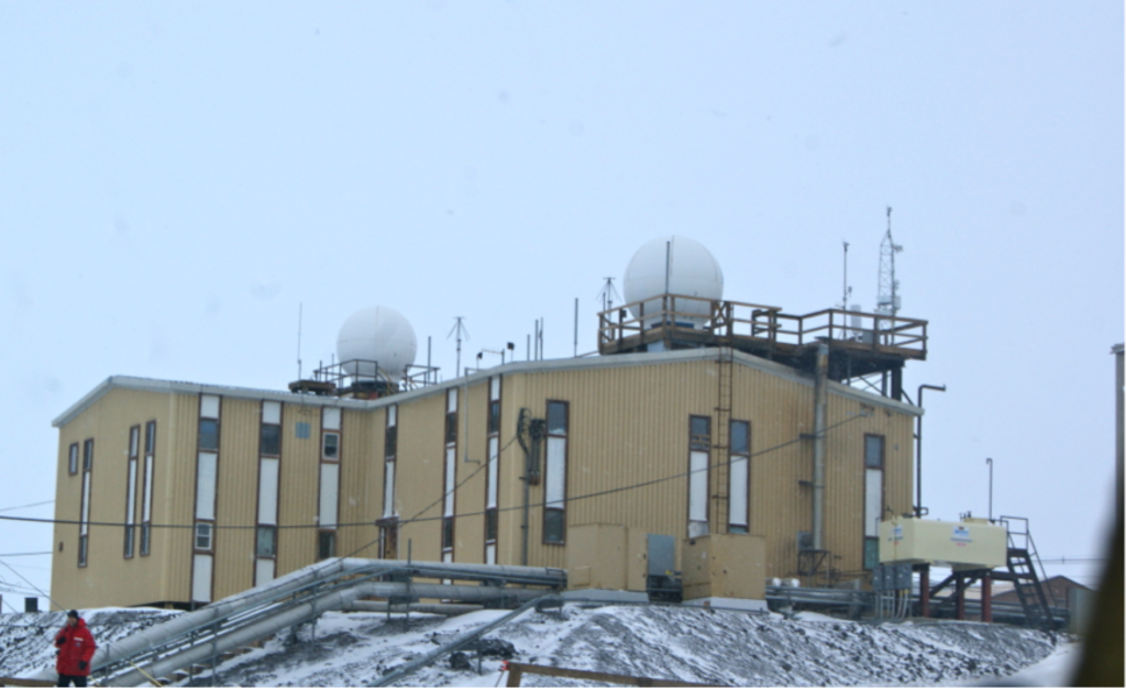 McMurdo Meteorological weather centre