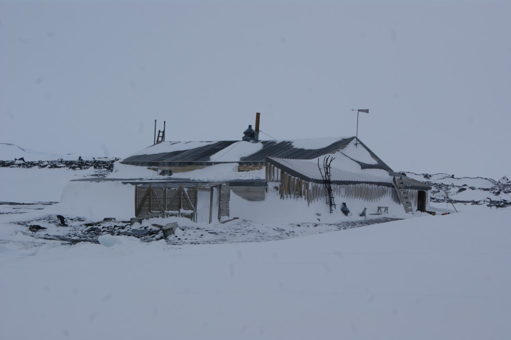Scott's hut at Cape Evans.