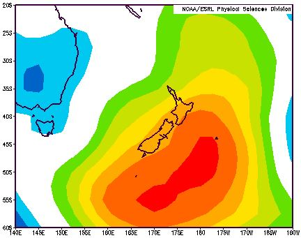 MSLP anomaly from Dec 2014