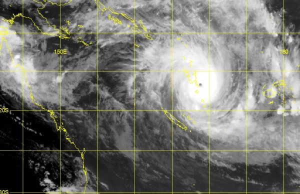Satellite picture for the Tropics at 7pm NZDT 13th March