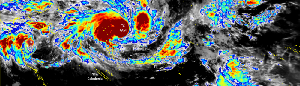 Tropical Cyclone Pam Updates – Saturday 14 March 2015