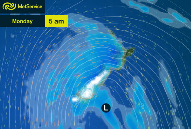 Forecast for Monday 13th April 2015